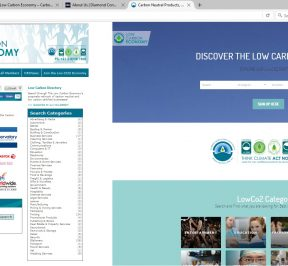 The New LowCO2 website